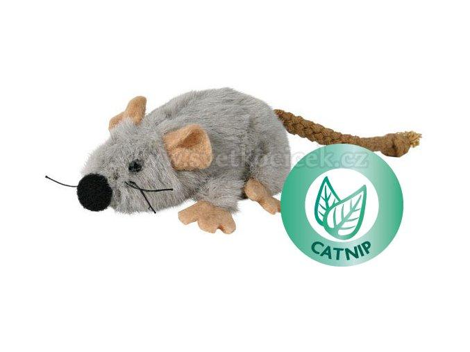Myš s catnipem 7 cm - hračka pro kočky