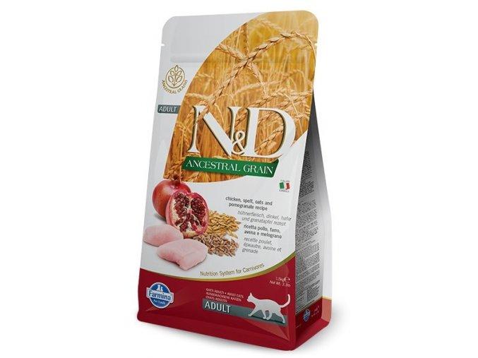 Granule bez pšenice a kukuřice pro kočky