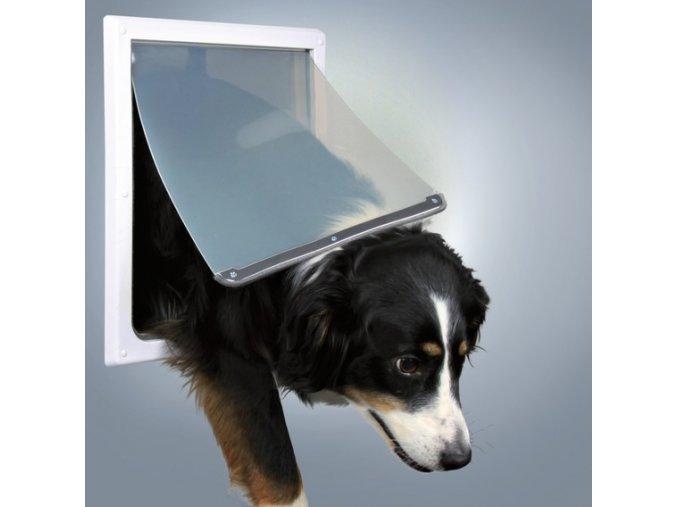 Průchozí dvířka pro psy M-XL dvoucestná