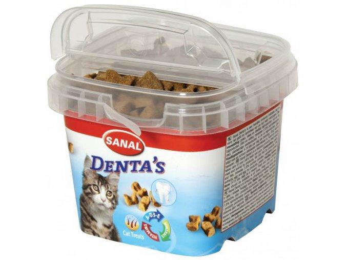 Sanal Denta's 75 g - pamlsky pro kočky DOPRODEJ