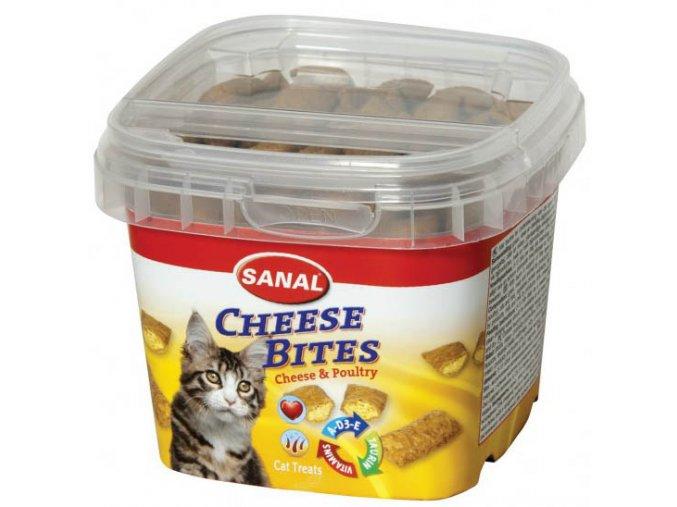 Sanal Cheese Bites 75 g - pamlsky pro kočky