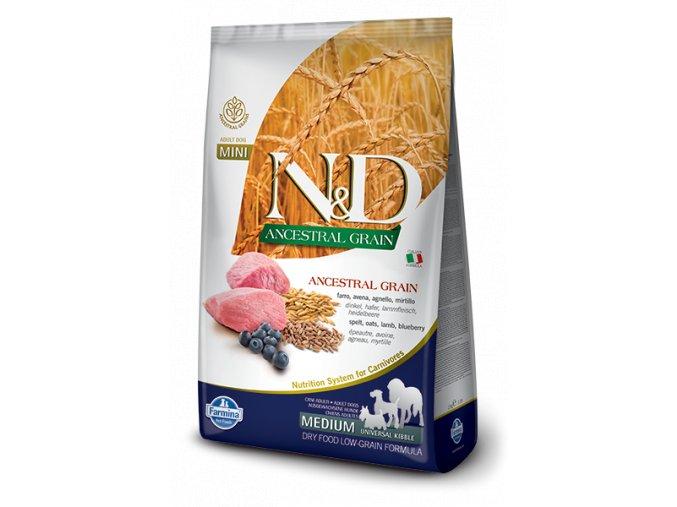 120 03 ND Low Ancestral Grain canine Adult medium uk LAMB@web