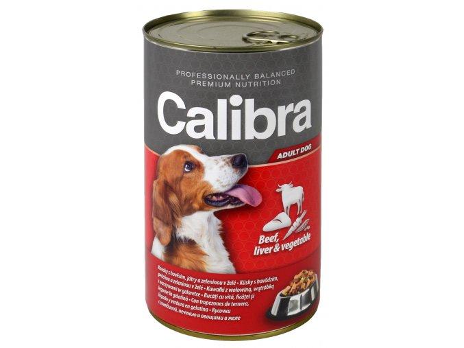 konzerva pro psa hovezi calibra