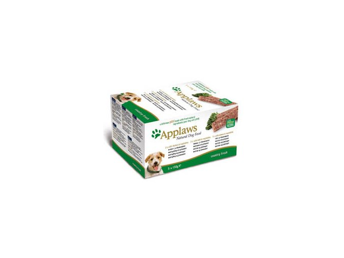 Applaws Dog Paté Country Fresh multipack - 5x150 g