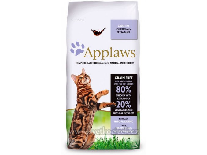 Applaws Cat Adult Chicken and Duck 7,5 kg