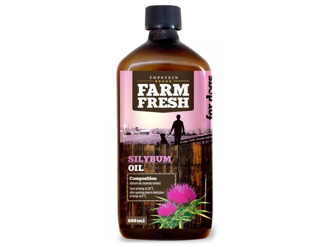 Farm Fresh ostropestřecový olej 500 ml