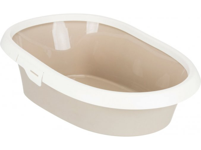 WC pro kočky Paulo II. krémovo-šedobéžové