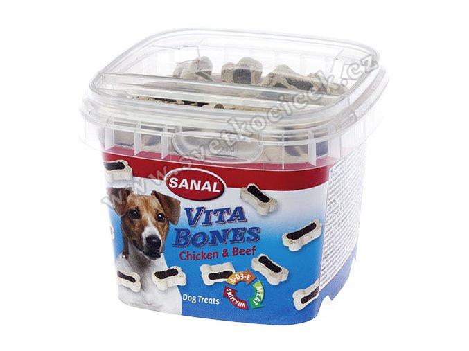 Sanal Vita Bones 100 g - pamlsky pro malé psy