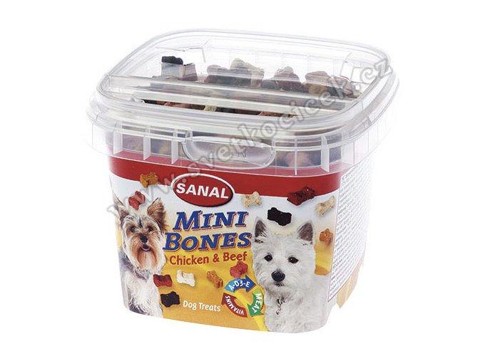 Sanal Mini Bones 100 g - pamlsky pro čivavy a jorkšíry