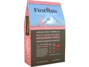 FirstMate Cat Pacific Ocean Fish with Blueberries 1,8 kg