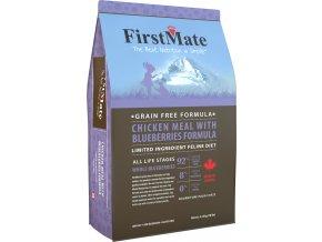 Kanadské krmivo pro kočky FirstMate - bezobilné granule