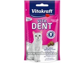 Vitakraft Vita-Dent 75 g - pamlsky pro kočky na čištění zubů