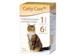 Catty Care Probiotika pro kočky a koťata 100 g