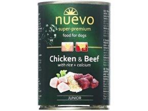 Nuevo Dog Junior - konzerva pro štěňata 400 g