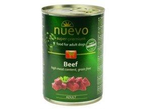 Nuevo Dog Adult konzerva 400 g - různé druhy