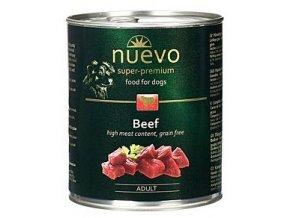 Nuevo Dog Adult konzerva 800 g - různé druhy