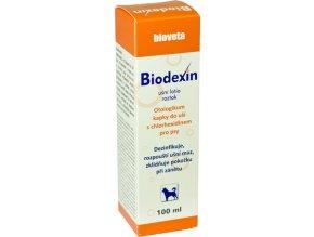 Ušní péče pro psy Biodexin 100 ml
