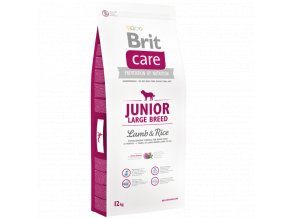 Brit Care Junior Large Lamb Rice 12 kg