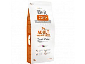 Brit Care Adult Medium Lamb Rice 3 kg