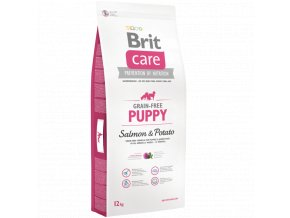 Brit Care Grain Free Puppy Salmon Potato 12 kg