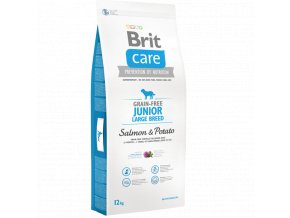 Brit Care Grain Free Junior Large Salmon Potato 12 kg