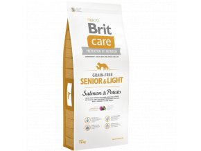 Brit Care Grain Free Senior Light Salmon Potato 12 kg