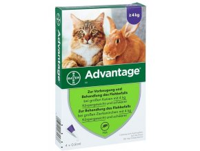 Advantage pipeta nad 4kg