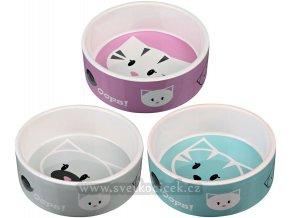 Keramická miska pro kočky MIMI 300 ml