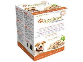 Applaws Dog Supreme Collection - 5x100 g kapsička v želé pro psy