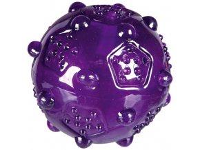 Odolný pískací míček z termoplastické gumy 7 cm