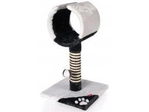 Škrábadlo Orfeus antracit/ světle šedá 61 cm