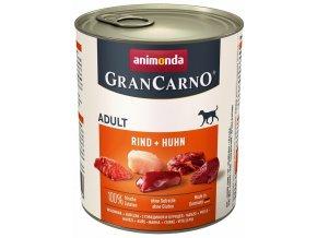 GranCarno Adult různé druhy - konzerva pro psy 800 g