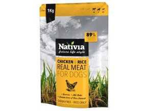 Nativia Real Meat Chicken and Rice 1 kg