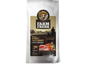 Farm Fresh Lamb Rabbit Adult Large Breed 15 kg