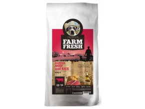 Farm Fresh Adult Beef and Rice 15 kg