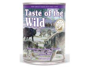 Taste of the Wild Sierra Mountain - konzerva 390 g