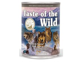 Taste of the Wild Wetlands - konzerva 390 g