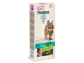 LOLO Premium Smakers 2 klasy pro osmáky degu 100 g - kompletní krmivo