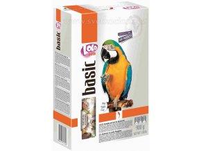 LOLOpets Basic kompletní krmivo pro velké papoušky 900 g