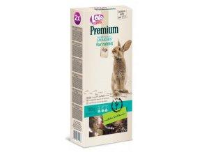 LOLO Premium Smakers 2 klasy pro králíky 100 g - kompletní krmivo