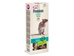 LOLO Premium Smakers 2 klasy pro potkany 100 g - kompletní krmivo