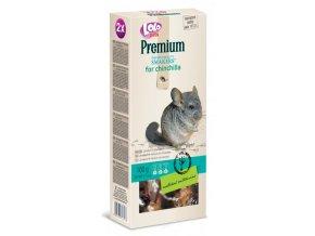LOLO Premium Smakers 2 klasy pro činčily 100 g - kompletní krmivo