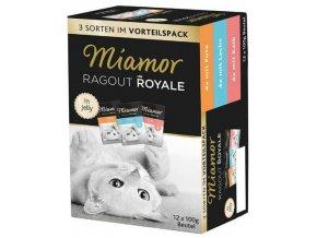 Miamor Cat Ragout Multipack v želé - kapsička 12x100 g