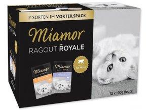 Miamor Cat Ragout Kitten Multipack - kapsička 12x100 g