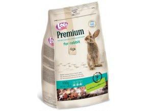 LOLOpets Premium krmivo pro králíky 900 g