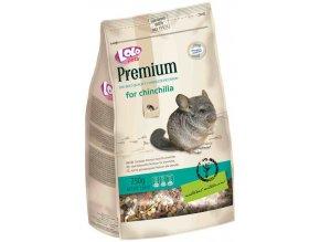 LOLOpets Premium krmivo pro činčily 750 g