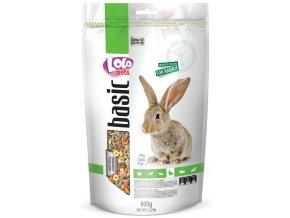 LOLOpets Basic krmivo pro králíky 600 g