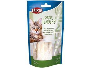 Premio kuřecí prsa vařená 70 g, 4 ks - pamlsek pro kočky