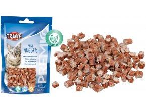 Trainer Snack Mini Nuggets 50 g - pamlsek pro kočky s catnipem