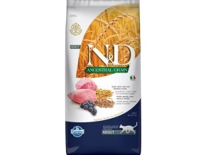 N&D Ancestral Grain Cat Adult Lamb Blueberry 5 kg